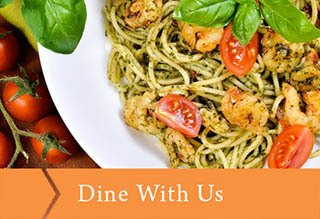 Dine with us at Emerald Gardens