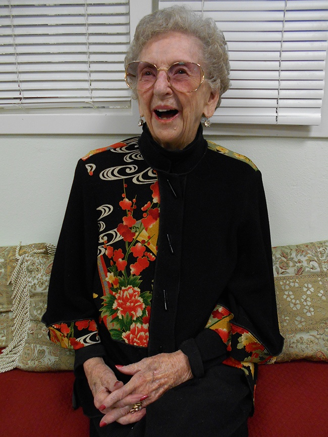 La Conner Retirement Inn Resident Ruby Martin turns 100