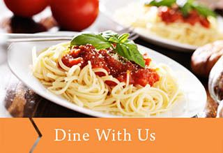 Dine with us at Pioneer Village