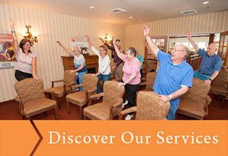 Discover the services that Pioneer Village offers