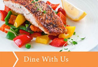 Dine with us at Barnett Woods