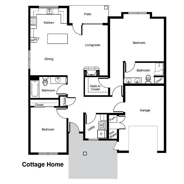 Senior Living Floor Plans Bozeman Lodge