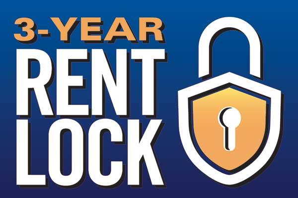 Rent lock at the senior living community in Richmond