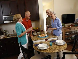 Lifestyle options for senior living residents in Columbia