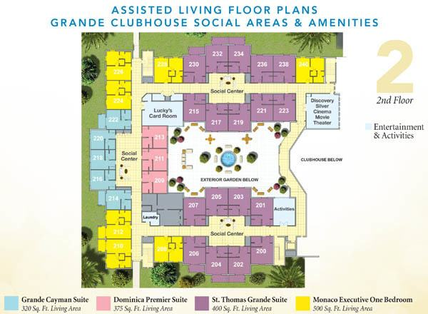 Floor Plans on Assisted Living Facility Floor Plans