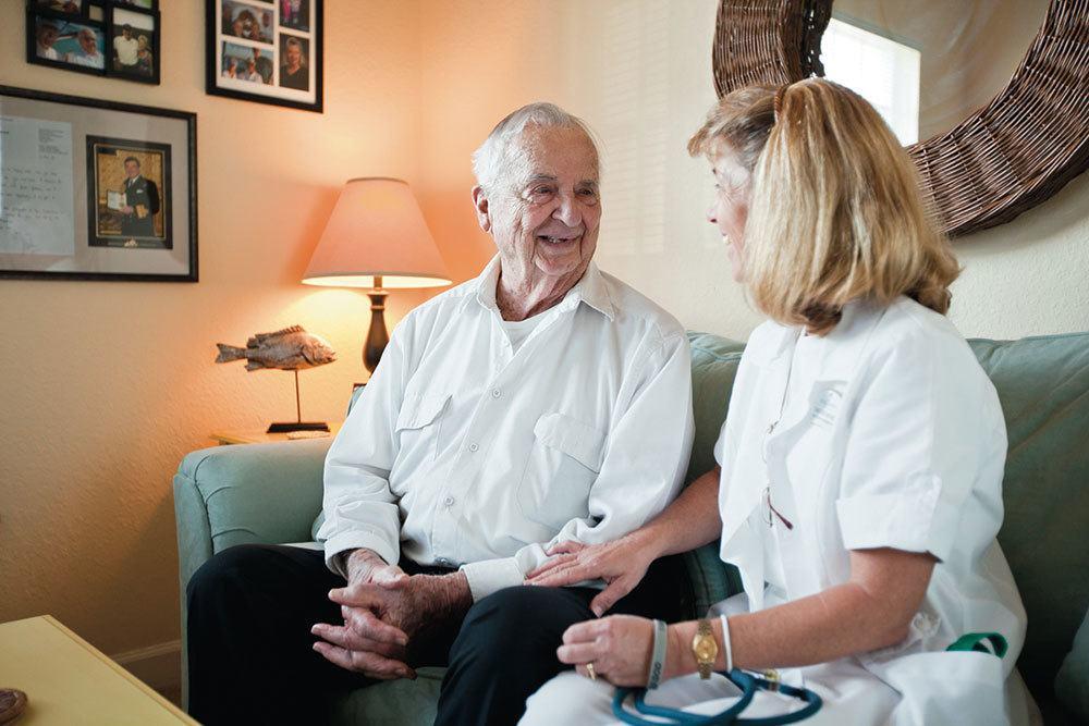 Compassionate memory care services at Palm Beach Gardens senior living