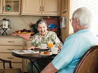Read what people are saying about our senior living in Lewisville, TX.