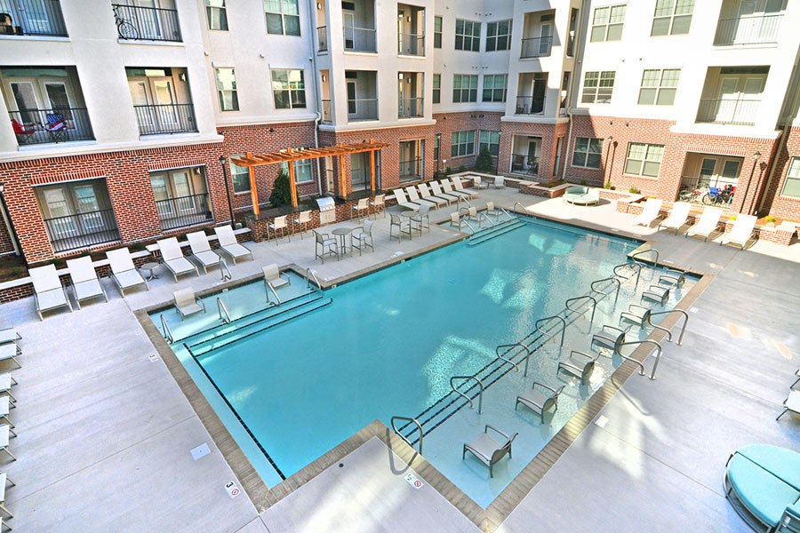 Swimming pool at West End Village