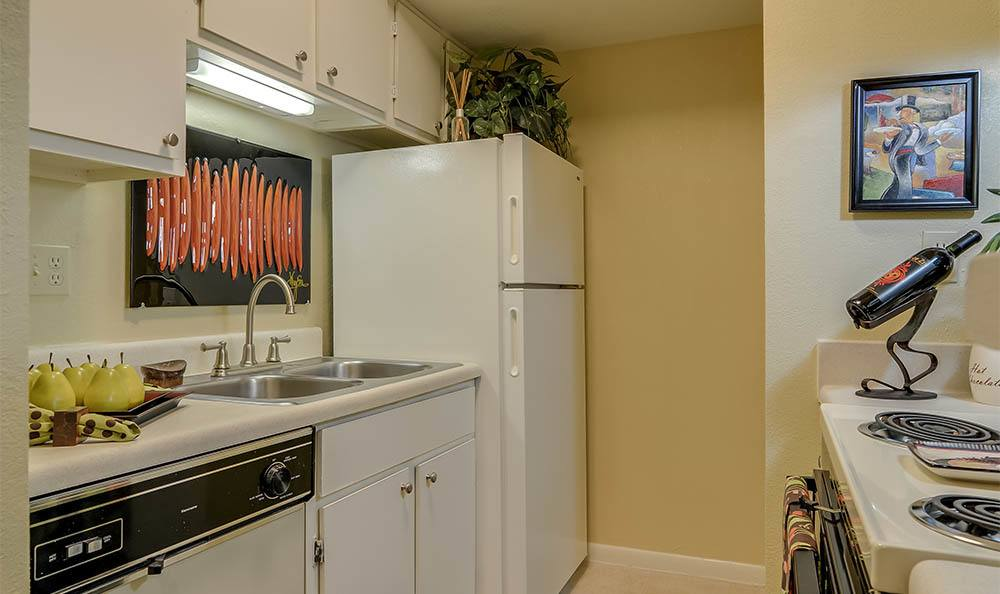 Kitchen Area At Bay Oaks
