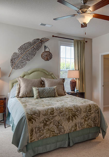 master bedroom at Legacy at Wakefield in Raleigh