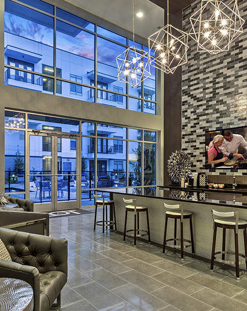 Clubhouse at Anthem Cityline in Richardson