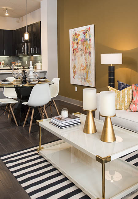 Anthem Cityline living and dining room in Richardson