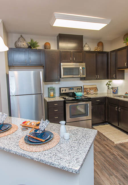 Kitchen at Parc at Broad River in Beaufort