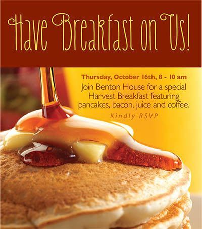 Pancake Day - activities at Benton House of West Ashley in Charleston, SC