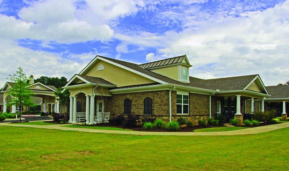Exterior of Decatur, GA Senior living