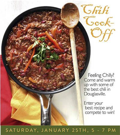 Chili Cook off - activities at The Garden House in Anderson, SC