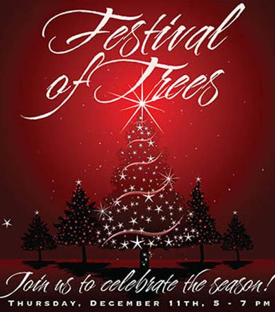Festival of Trees - activities at The Garden House in Anderson, SC