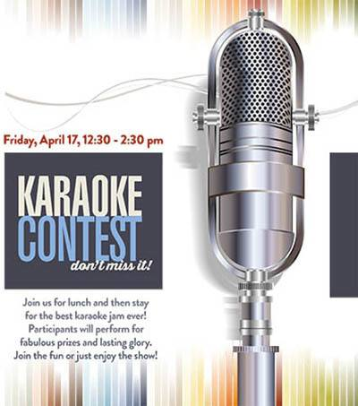 Karaoke Contest - activities at The Garden House in Anderson, SC