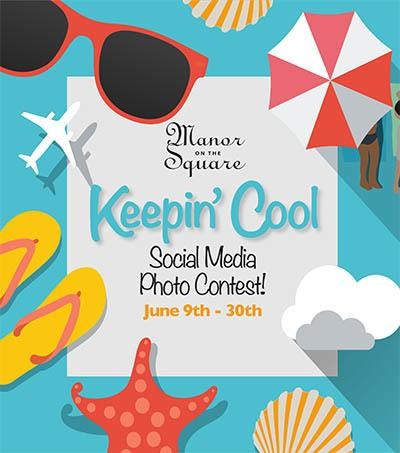 Keep Cool Photo Contest - activities at The Garden House in Anderson, SC