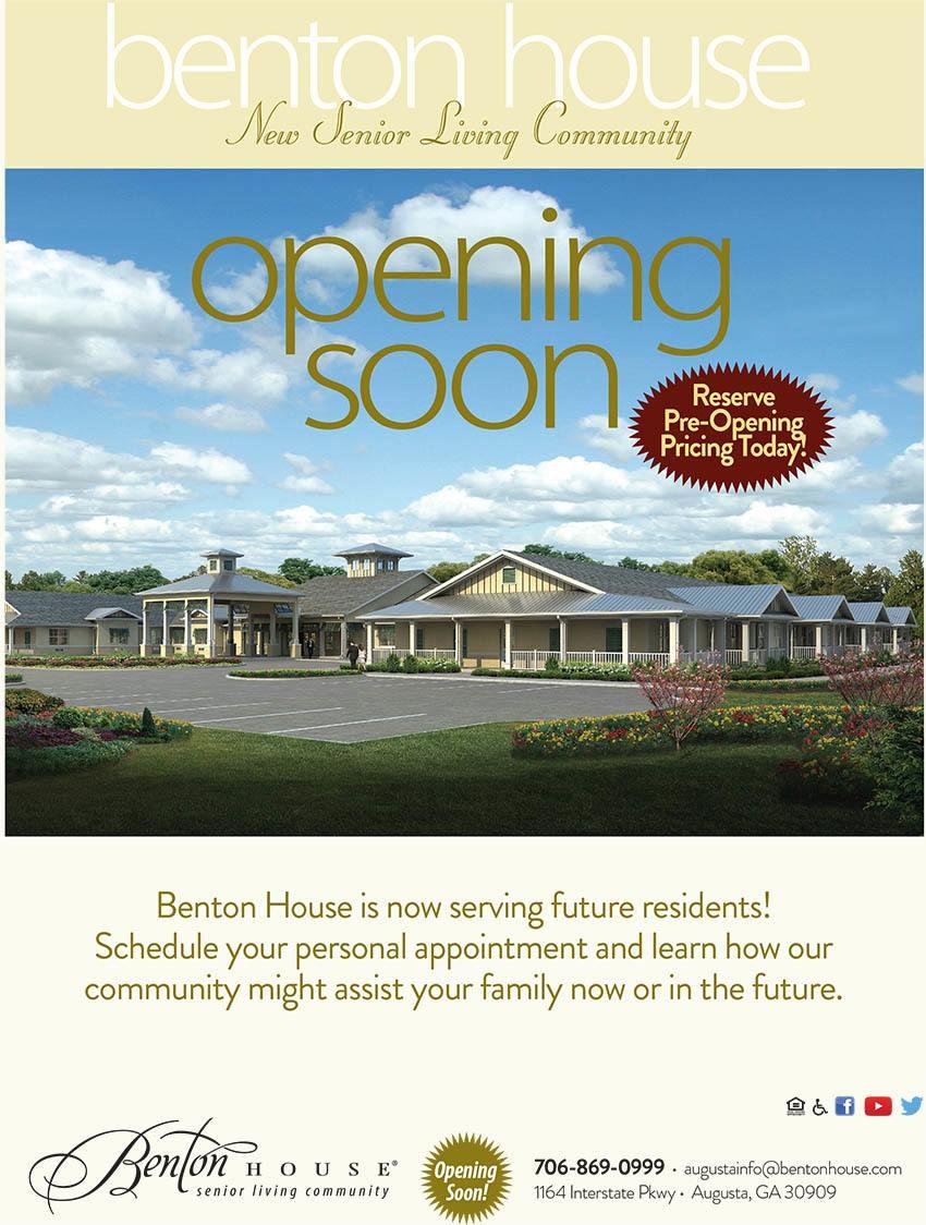 Benton house of Augusta is opening soon