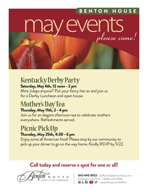May 2017 Events