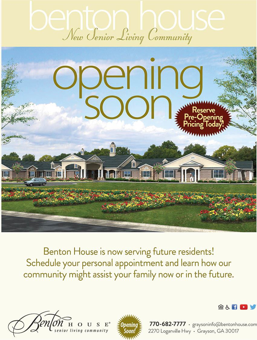 Benton house of Grayson is opening soon