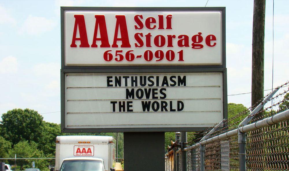 Browns Summit, NC self storage facility