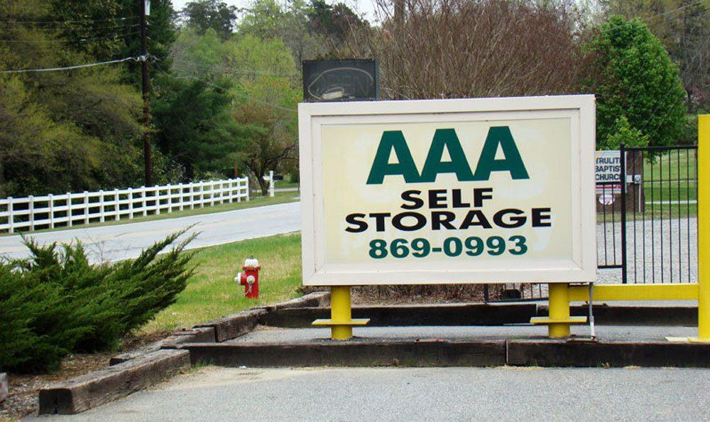 High Point, NC self storage facility