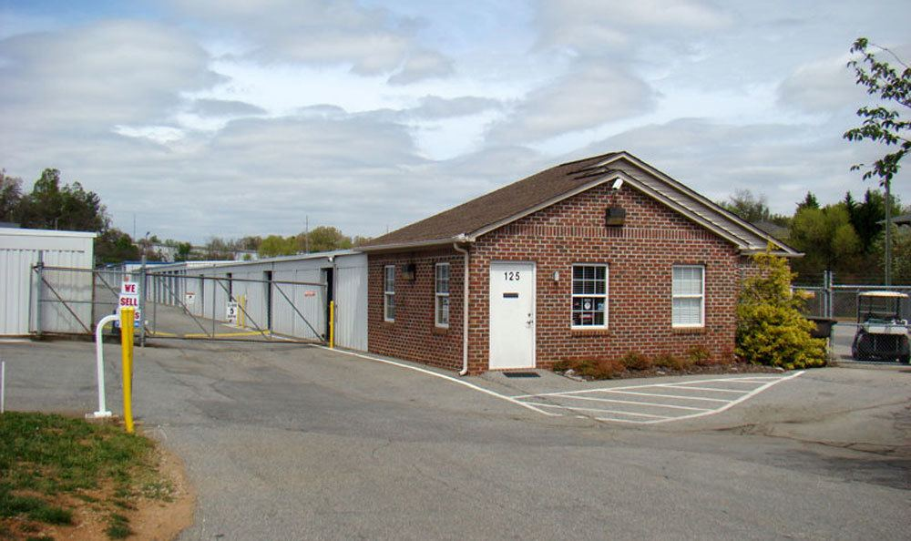 Store your belongings at our secure self-storage facility