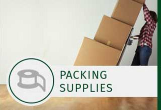 Packing supplies for sale at AAA Self Storage
