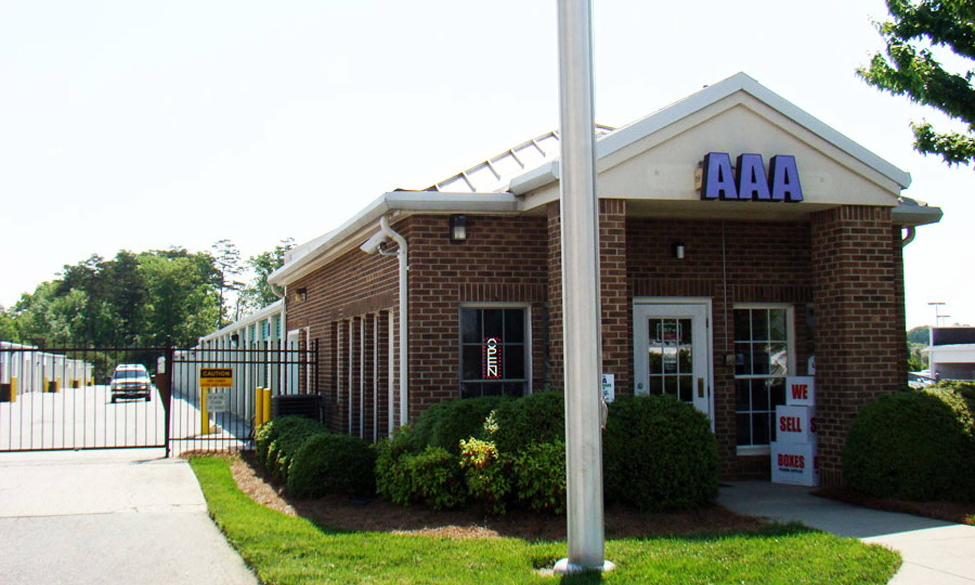 Reliable self storage in Greensboro