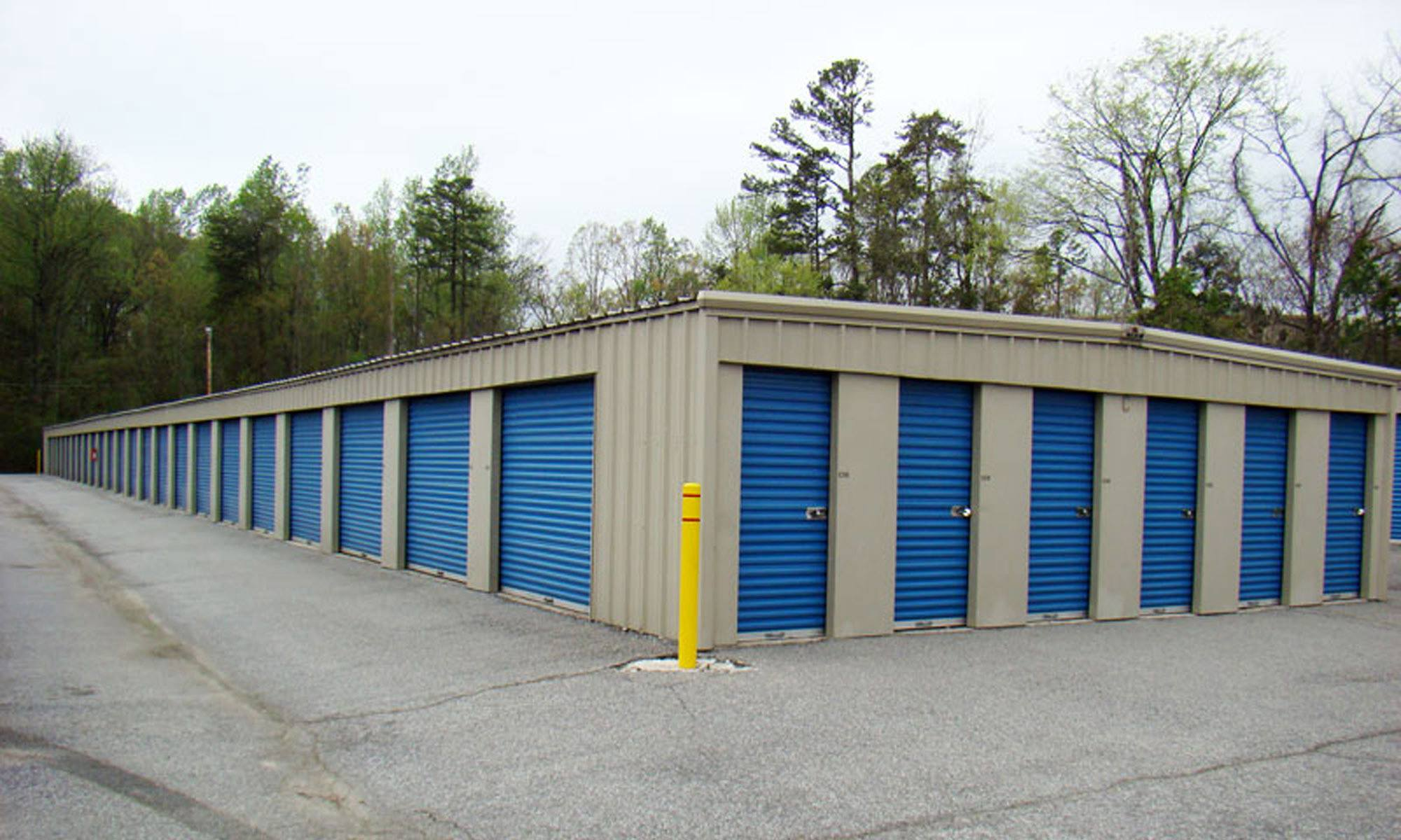 Secure self storage in High Point, NC