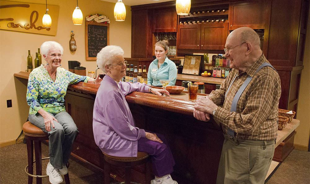 Enjoy time with all of the special ones in your life at our senior living facility in Milwaukie