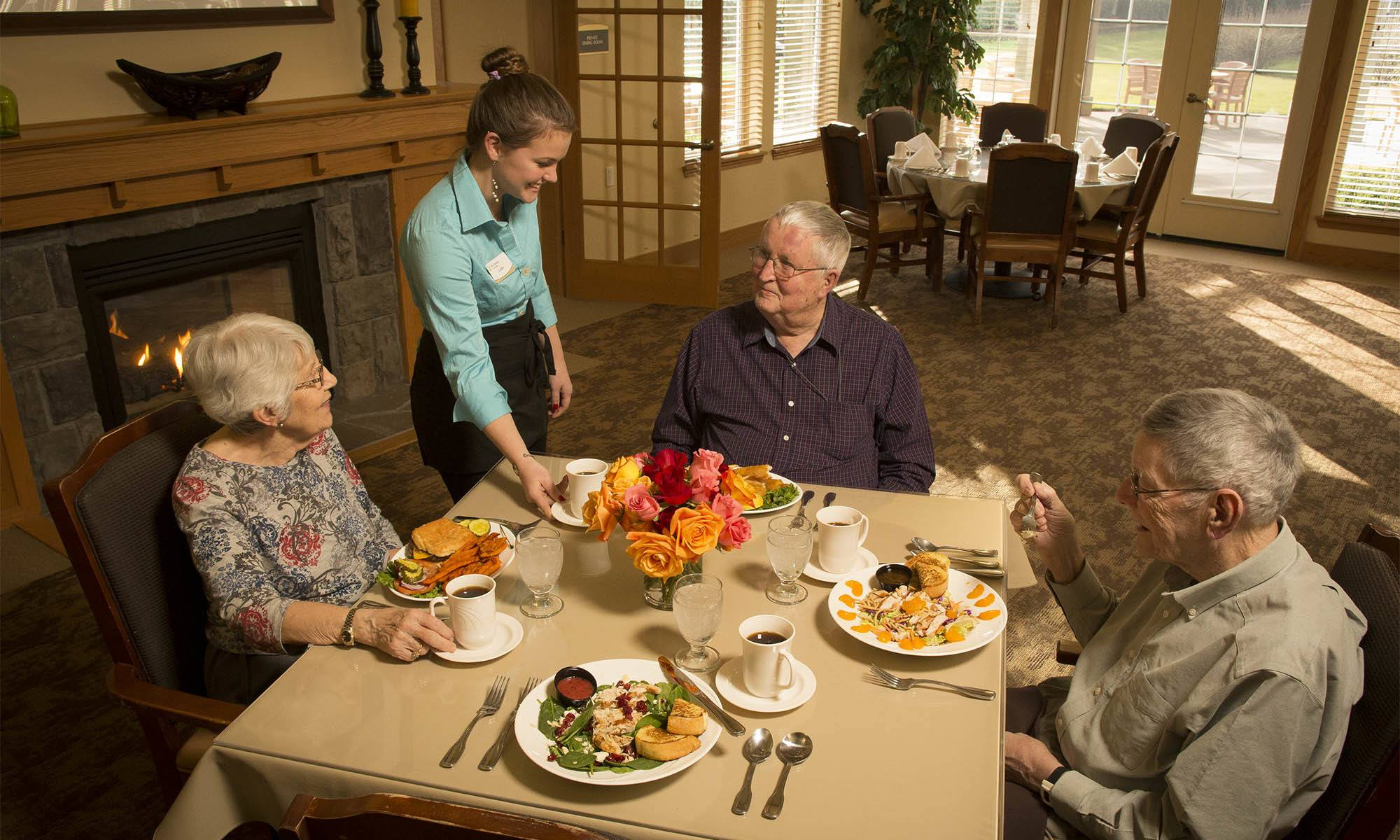 You've never been as happy as you are at our senior living facility in Milwaukie, OR!