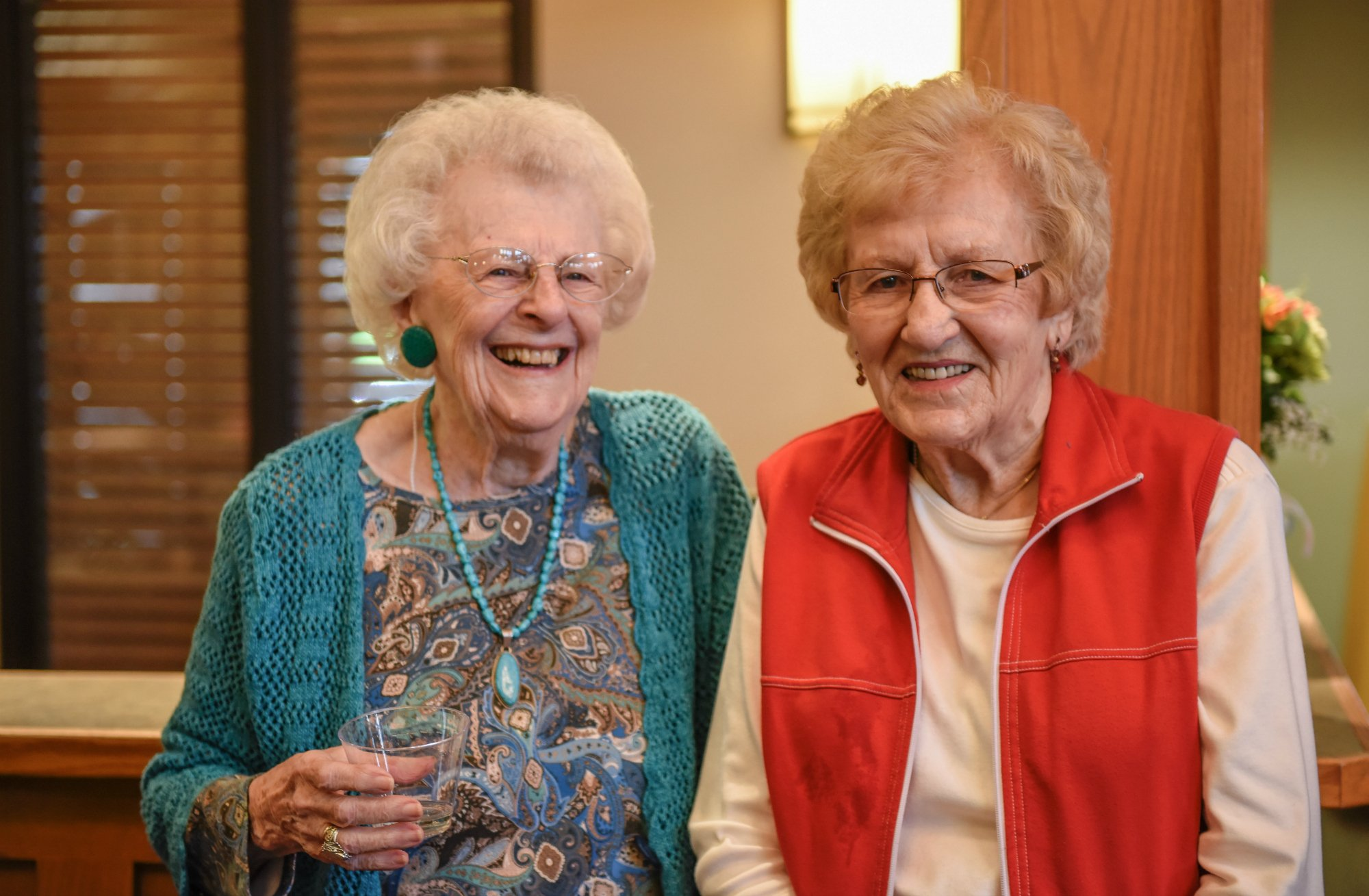 There's always someone to laugh with at our senior living facility in Milwaukie, OR