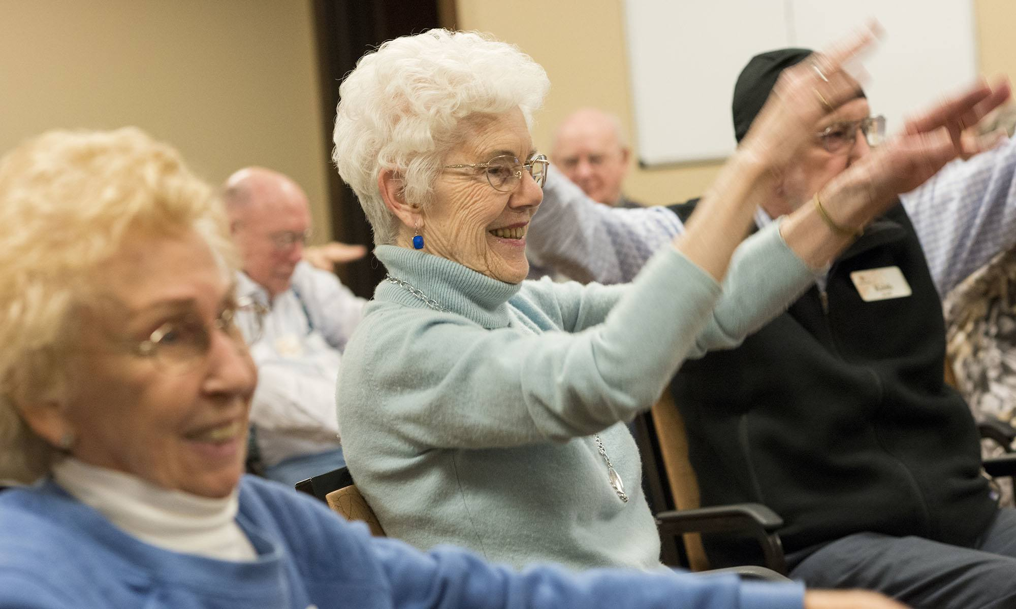 You've never been as happy as you are at our senior living facility in Missoula, MT!