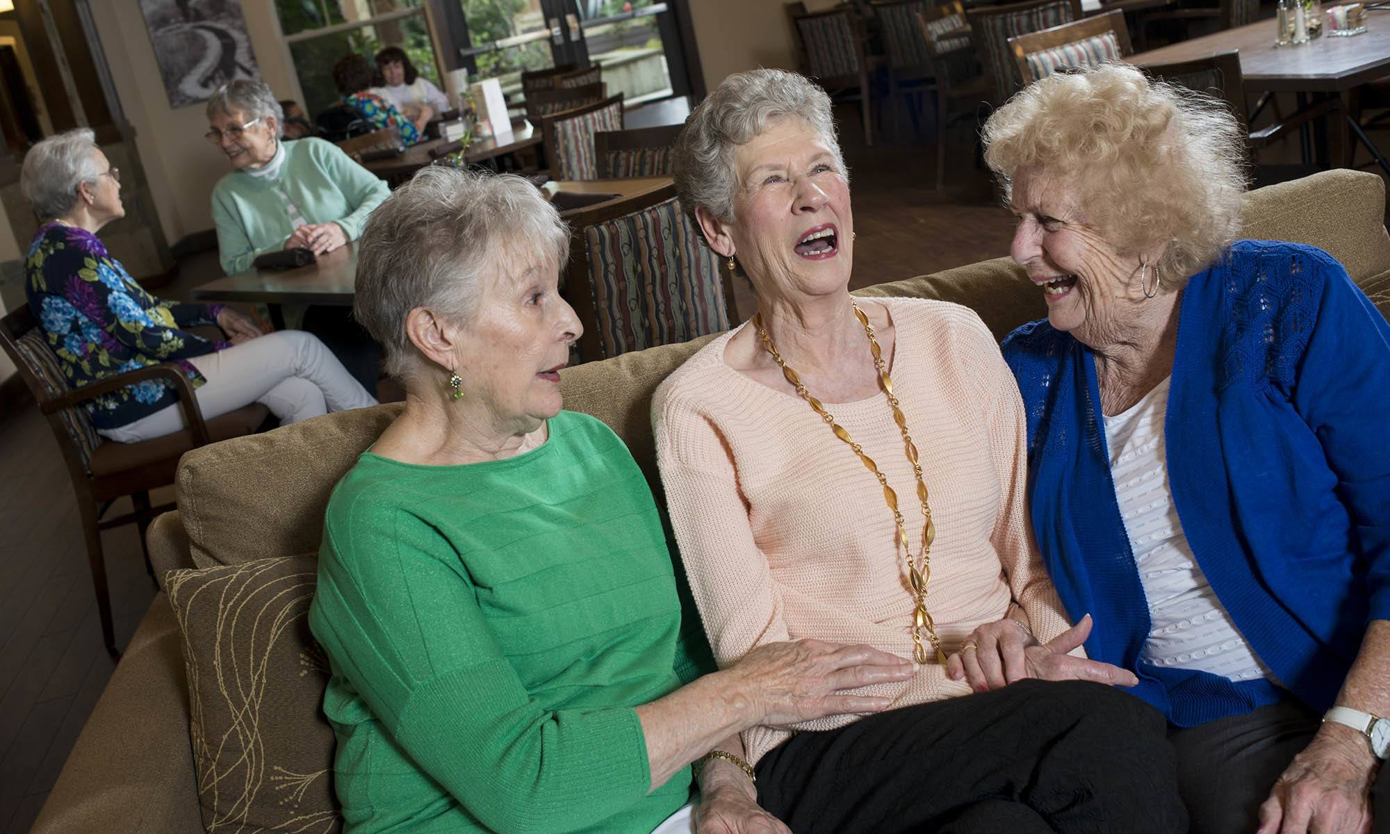 You've never been as happy as you are at our senior living facility in Medford, OR!