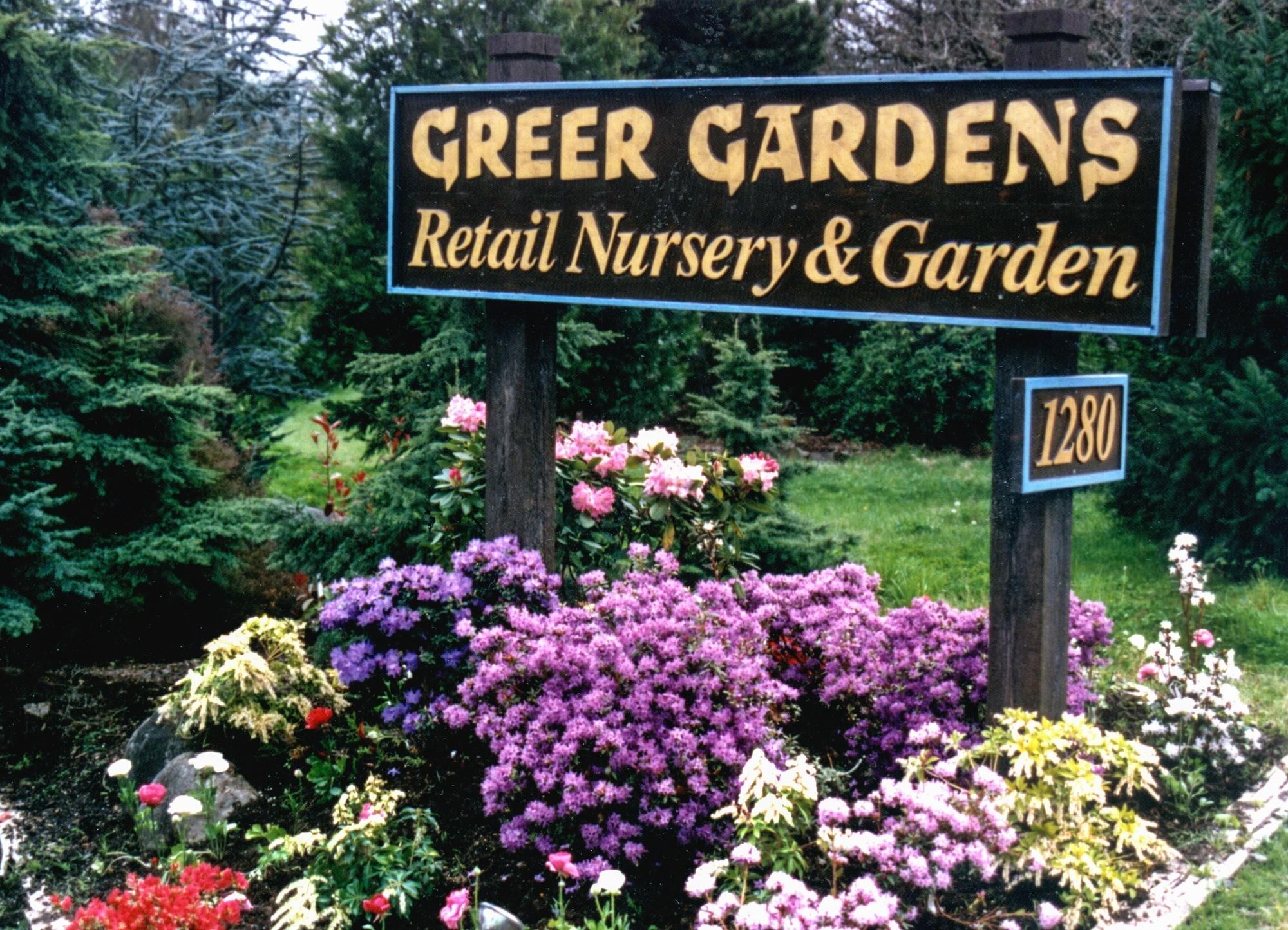 Greer Gardens Nursery