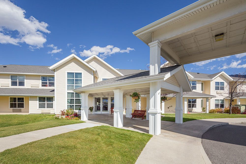 Exterior view of our senior living community