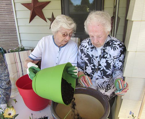Social activities for residents at our Butte senior living community