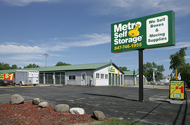Metro Self Storage Beach Park Nearby