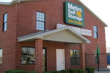 Metro Self Storage El Paso Alameda Nearby