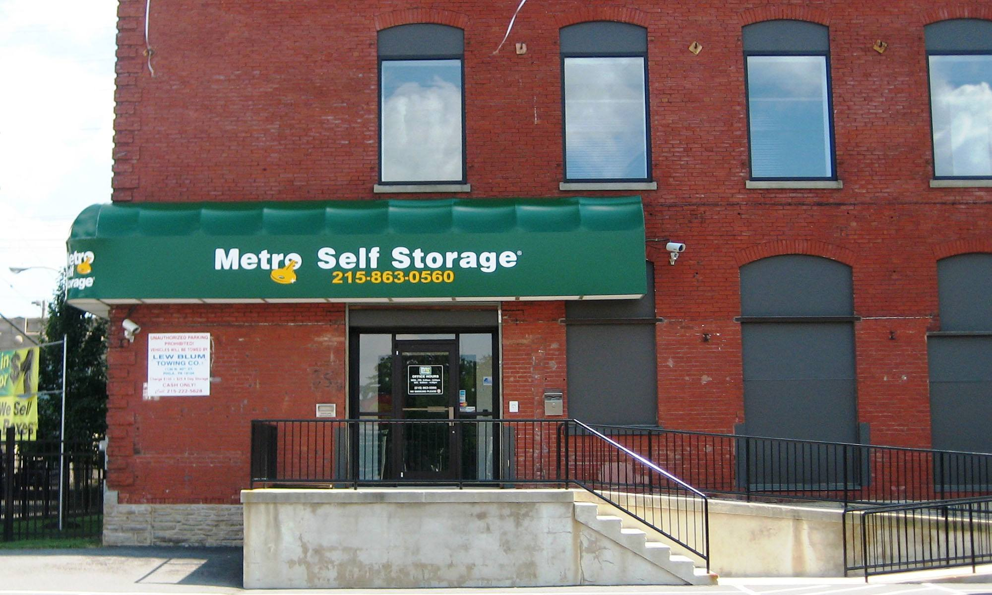 Metro Self Storage in Philadelphia, PA