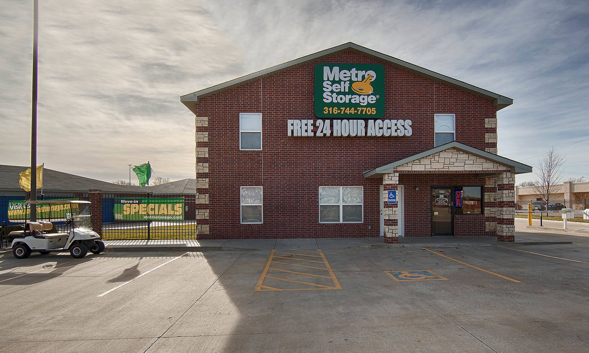 Metro Self Storage in Park City, KS