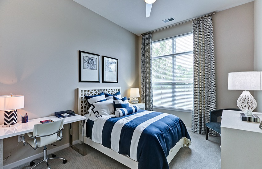 The Bedrooms In Our Luxury Apartment Homes At Marq At Crabtree Are ...