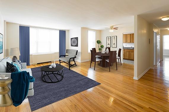 Studio Apartment Nj highland park, nj apartments | parktowne apartments