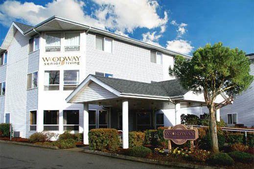 Woodway Assisted Living front entrance
