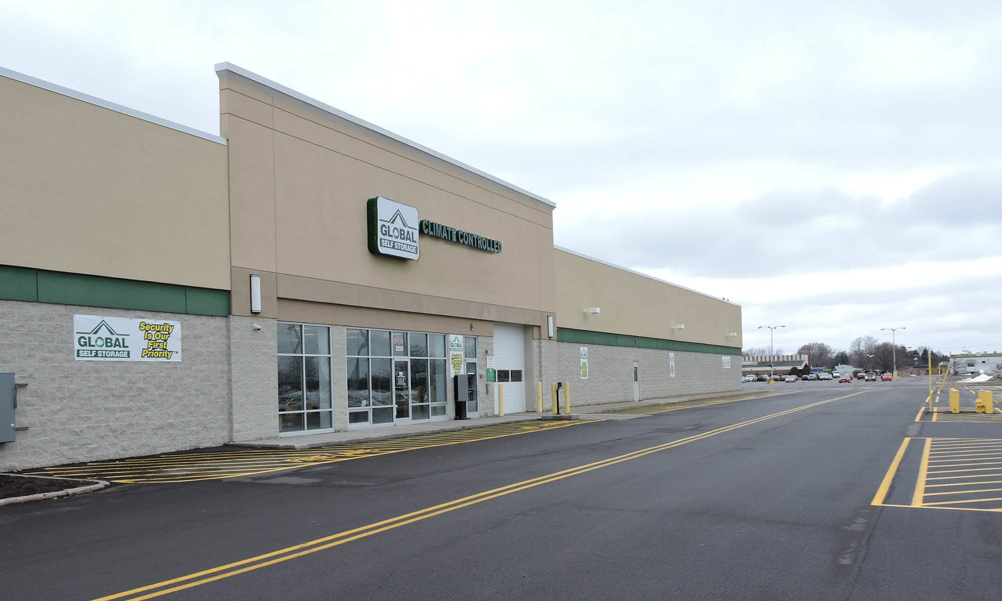Self Storage available at Global Self Storage in Rochester, NY