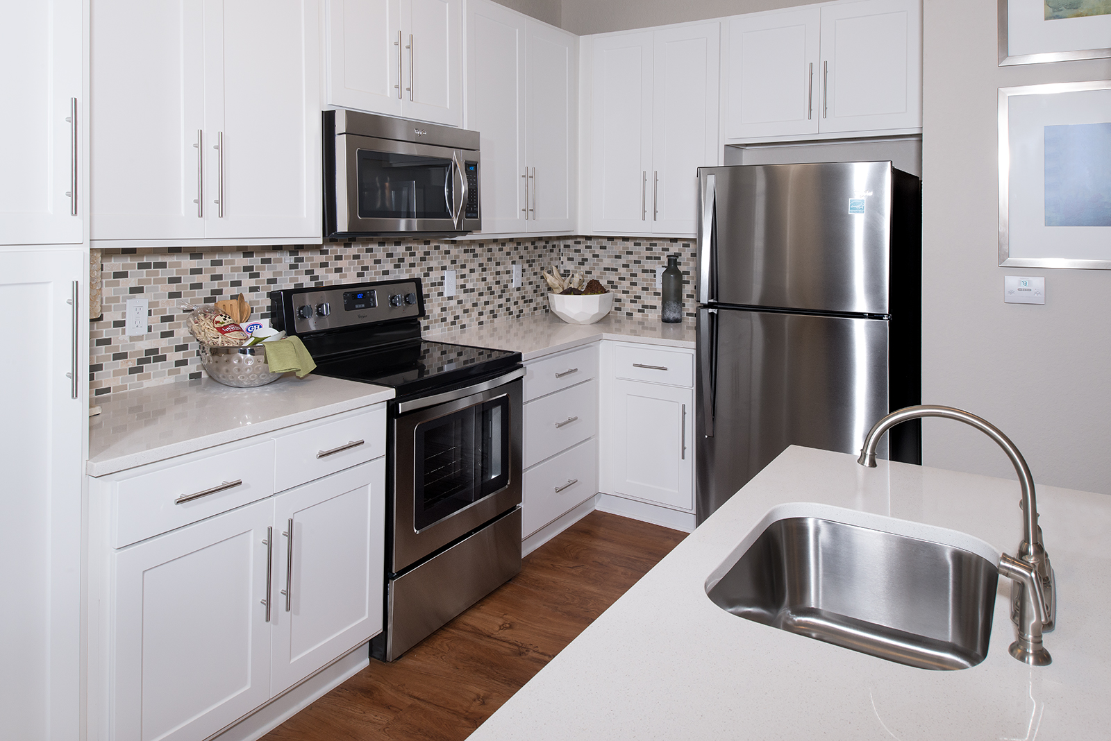 open kitchens at apartments in Fredericksburg
