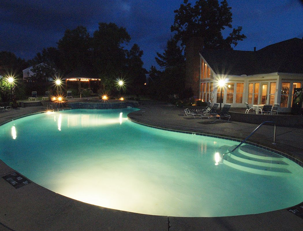 Public pool at Fox Chase Apartments